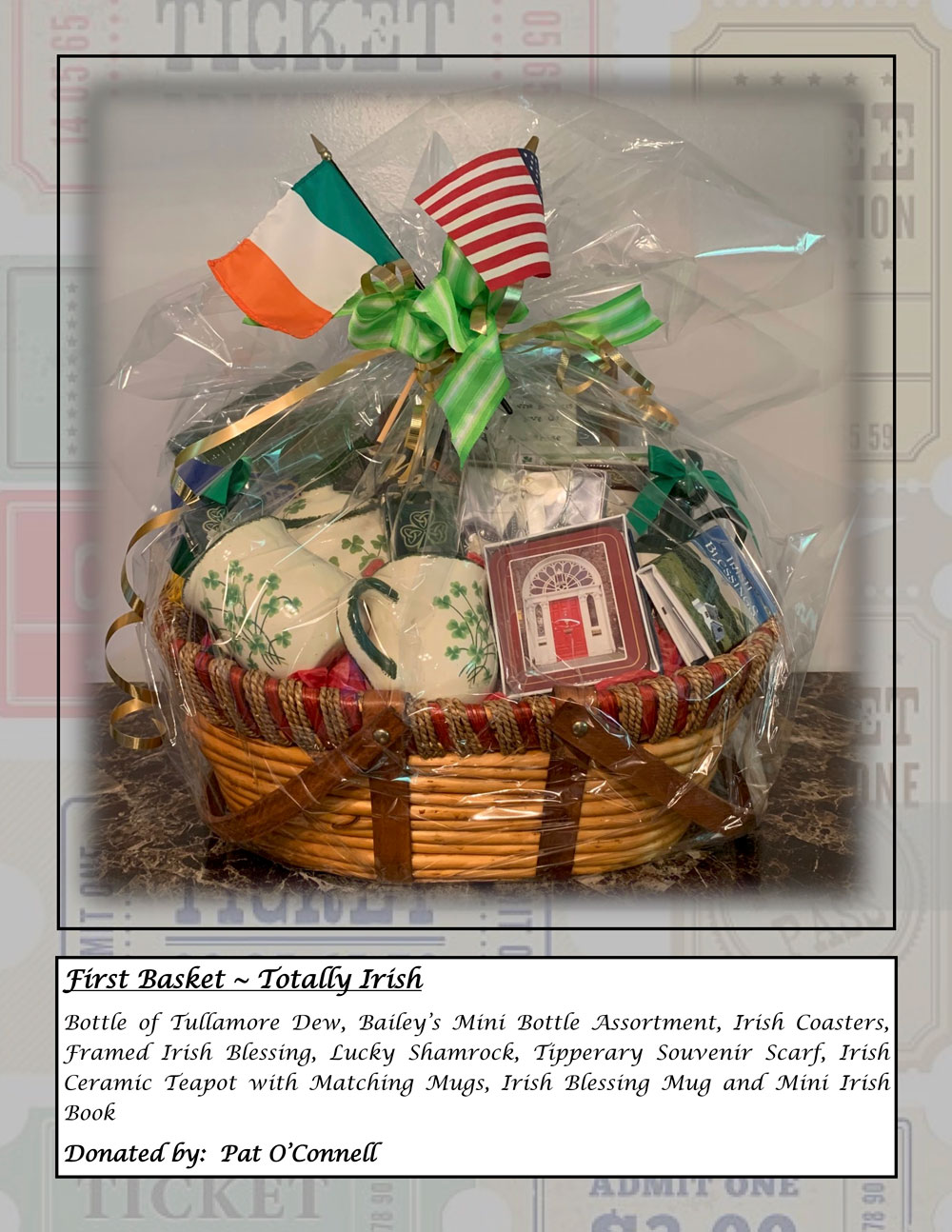 TOTALLY IRISH Basket 1